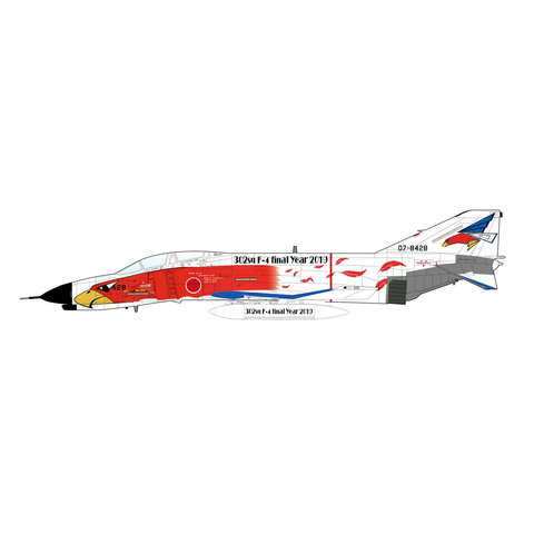 F4EJ Kai 302 Hikotai JASDF  F4 Final Year white 1:72