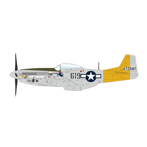 P51D Mustang 1Lt.Ebersole 462FS 506FG 1:48