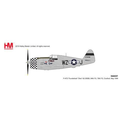 P47D Thunderbolt 84FS 78FG WZ-J Okie 1944 1:48