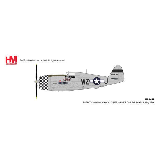 Hobby Master P47D Thunderbolt 84FS 78FG WZ-J Okie 1944 1:48