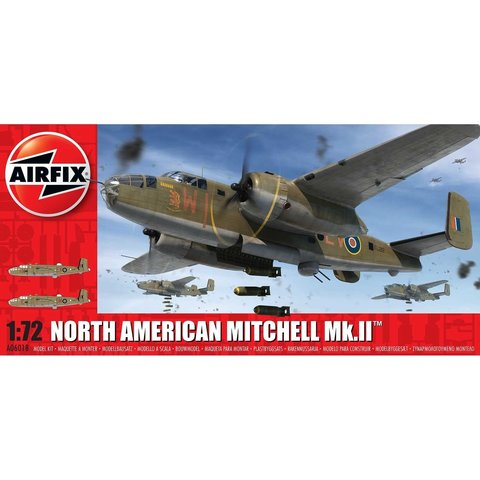 B25 MITCHELL MkII RAF 1:72 NEW TOOLING