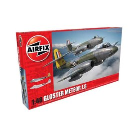 Airfix GLOSTER METEOR F.8 CAMOUFLAGE 1:48 SCALE KIT