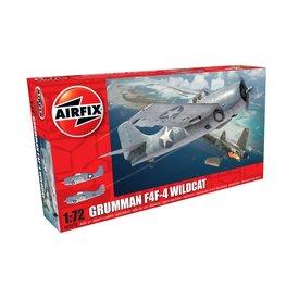 Airfix GRUMMAN F4F-4 WILDCAT 1:72 SCALE KIT