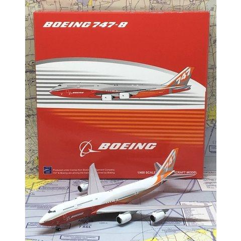 B747-8I Boeing House Sunrise Livery N6067E 1:400