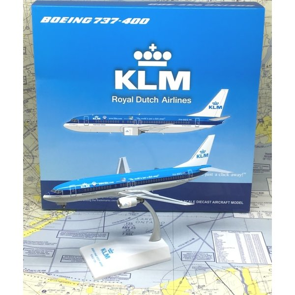 JC Wings B737-400 KLM World is a Click Away PH-BDS 1:200