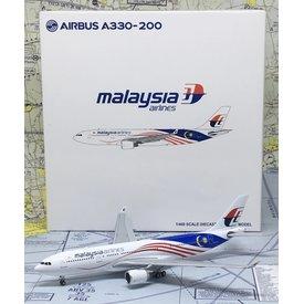 JC Wings A330-200 Malaysia Negaraku Livery 9M-MTX 1:400