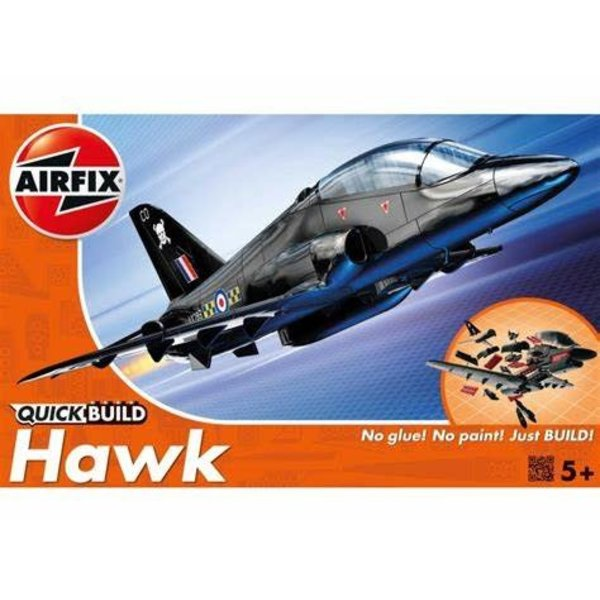 Airfix BAE HAWK QUICK BUILD Snap together model