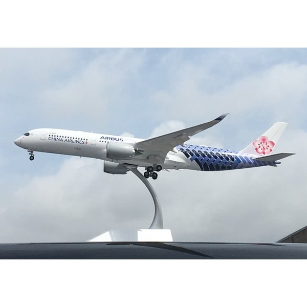 JC Wings A350-900XWB China Airlines Carbon B-18918 1:200