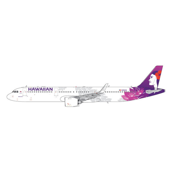 Gemini Jets A321neo Hawaiian New Livery N204HA 1:400 (2nd)