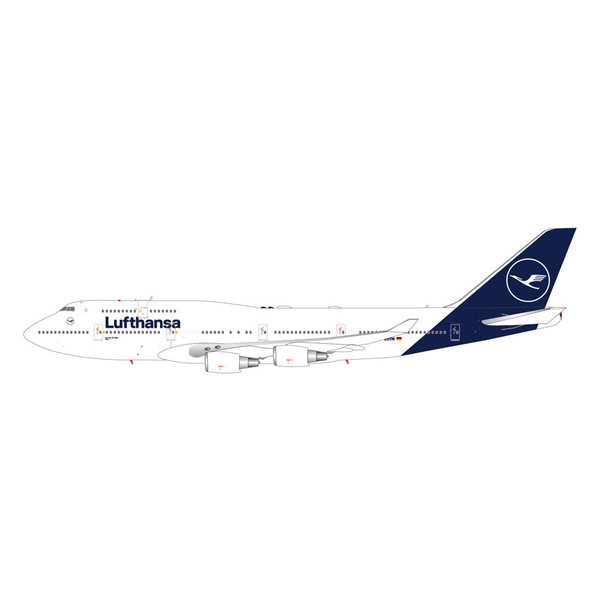 Gemini Jets B747-400 Lufthansa 2018 livery D-ABVM 1:200