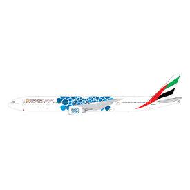 Gemini Jets B777-300ER Emirates Blue Expo 2020 A6-EPK 1:200