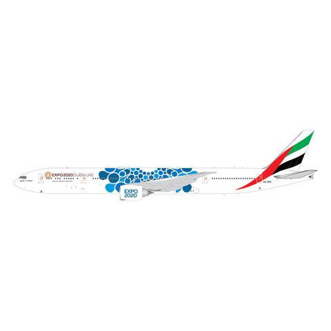B777-300ER Emirates Blue Expo 2020 A6-EPK 1:200