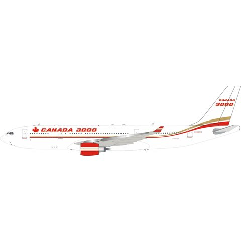A330-200 Canada 3000 C-GGWD 1:200 With Stand