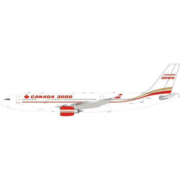 InFlight A330-200 Canada 3000 C-GGWD 1:200 With Stand