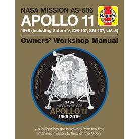 Haynes Publishing Apollo 11: Owner's Workshop Manual 50th Hardcover