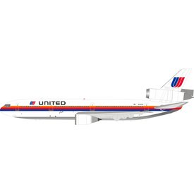InFlight DC10-10 United Saul Bass N1812U 1:200 With Stand