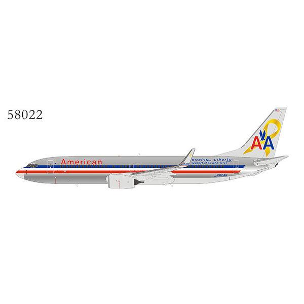 NG Models B737-800W American Flagship Liberty N905AN 1:400