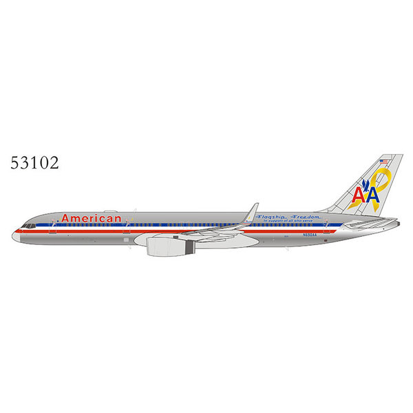 NG Models B757-200W American Flagship Freedom N690AA 1:400