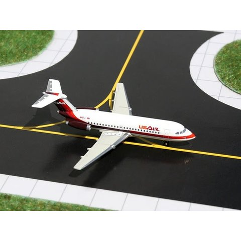 BAC111-200 US Air O/C burgundy N1127J 1:400