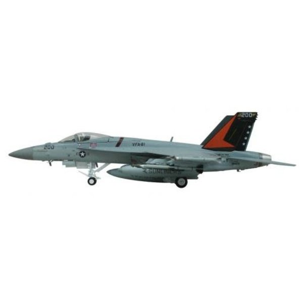 FA18E Super Hornet VFA31 Sunliners US Navy 1:72