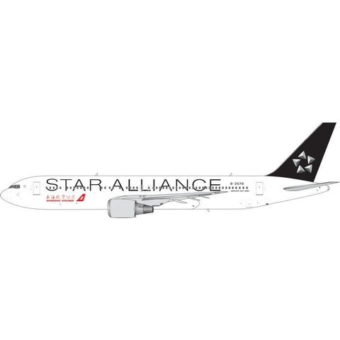 B767-300 Shanghai Star Alliance B-2570 1:400