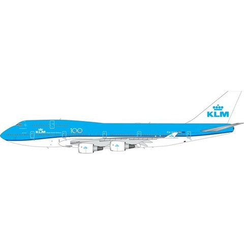B747-400 KLM 100th Anniversary PH-BFW 1:400