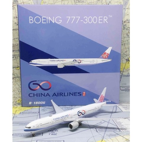 B777-300ER China Airlines 60TH B-18006 1:400