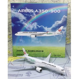 Phoenix A350-900 JAL Green A350 Titles JA03XJ 1:400