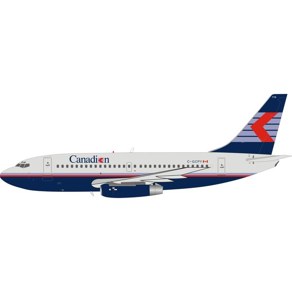InFlight B737-200 Canadian Airlines Chevron C-GCPY 1:200
