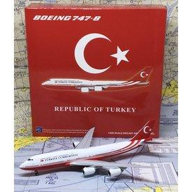 JC Wings B747-8I Republic of Turkey Government TC-TRK 1:400