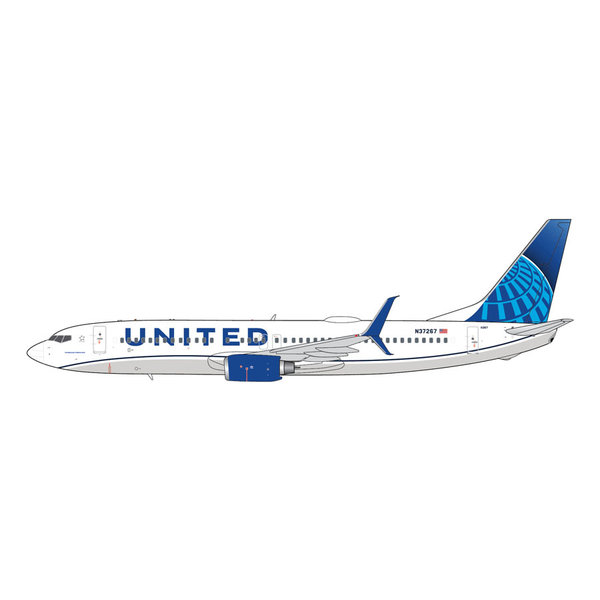 Gemini Jets B737-800S United Airlines 2019 c/s N37267 1:400