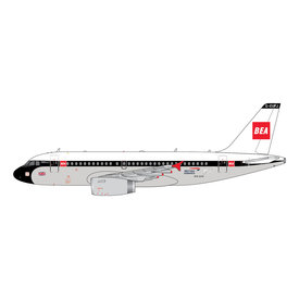 Gemini Jets A319 British Airways 100 Years BEA Retro G-EUPJ 1:400