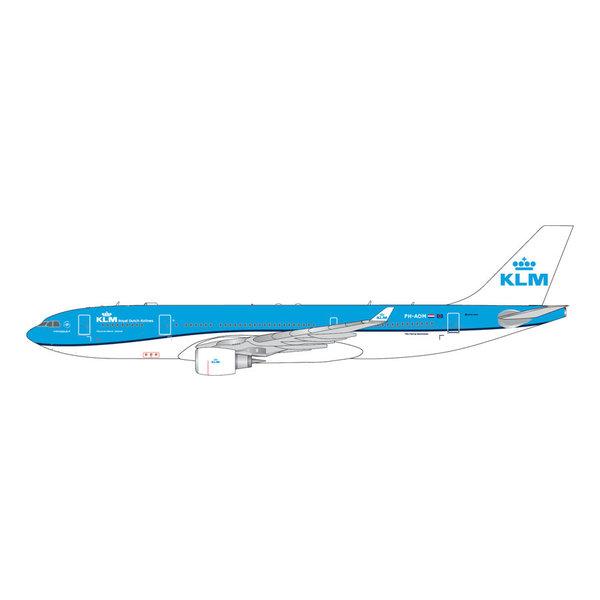 Gemini Jets A330-200 KLM 2014 livery PH-AOM 1:400