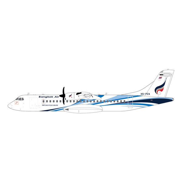 Gemini Jets ATR72-600 Bangkok Airways HS-PZA 1:200
