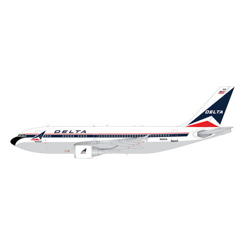A310-300 Delta Widget N818PA 1:200 with stand