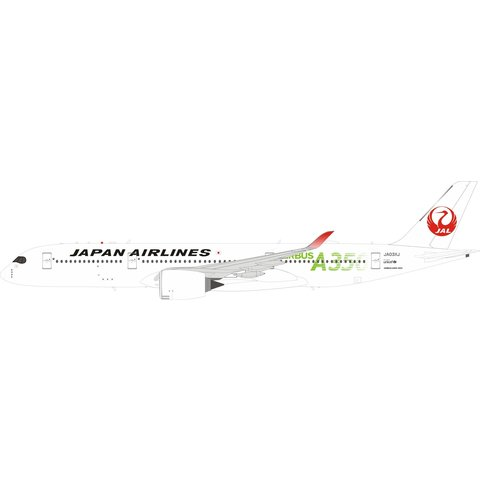 A350-900 JAL Japan Airlines A350 Green JA03XJ 1:200