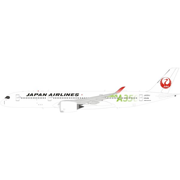 InFlight A350-900 JAL Japan Airlines A350 Green JA03XJ 1:200
