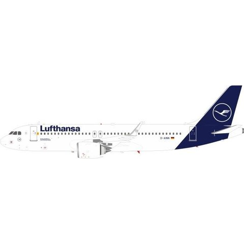 A320S Lufthansa new livery 2018 D-AINN 1:200