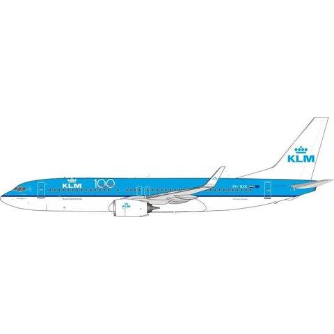 B737-800W KLM 100 Years PH-BXK 1:200