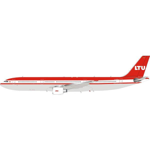InFlight A330-300 LTU D-AERQ 1:200 with stand