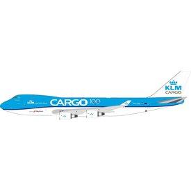 InFlight B747-400 KLM Cargo PH-CKB 100th 1:200