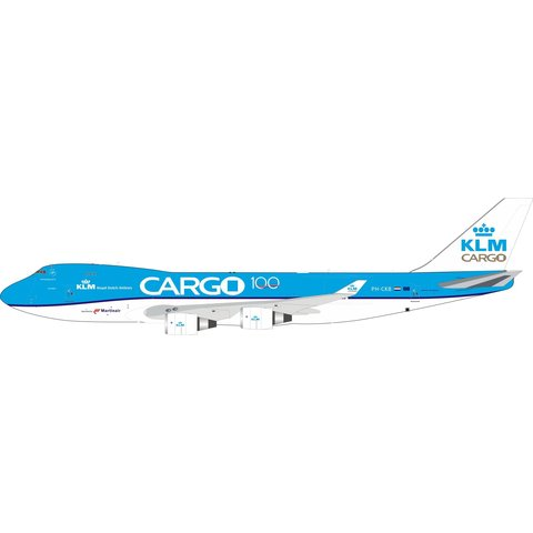 B747-400 KLM Cargo PH-CKB 100th 1:200