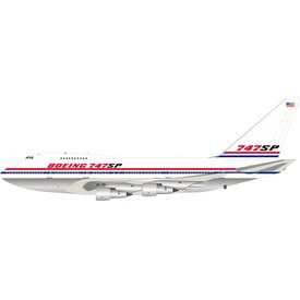 InFlight B747SP Boeing House N747SP 1:200 Polished