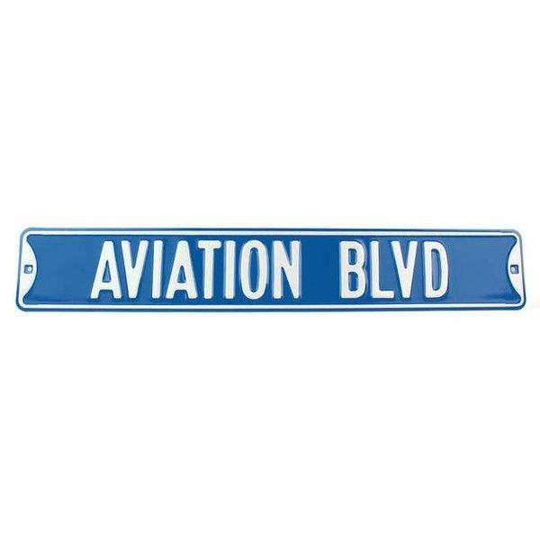TIN SIGN AVIATION BLVD