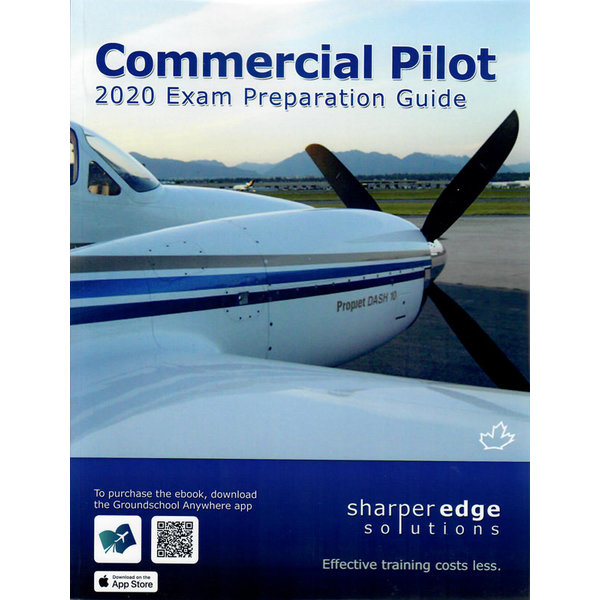 Sharper Edge Commercial Pilot Exam Preparation Guide 2020