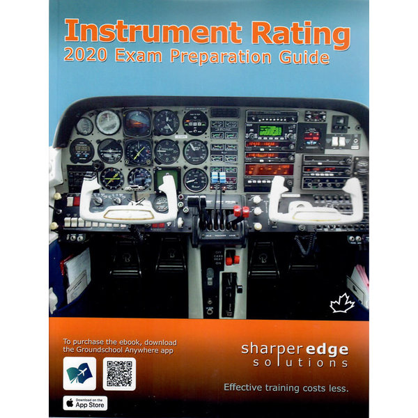 Sharper Edge Instrument IFR Pilot Exam Preparation Guide 2020