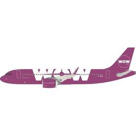 JFOX Airbus A320neo Wow Air TF-NEO 1:200