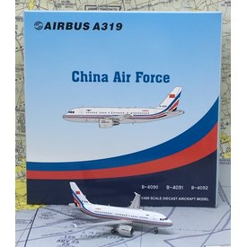 JC Wings A319 China Air Force PLAAF B-4090 1:400