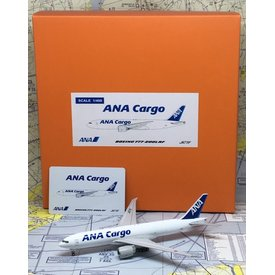 JC Wings B777F ANA Cargo JA771F 1:400 with antennae
