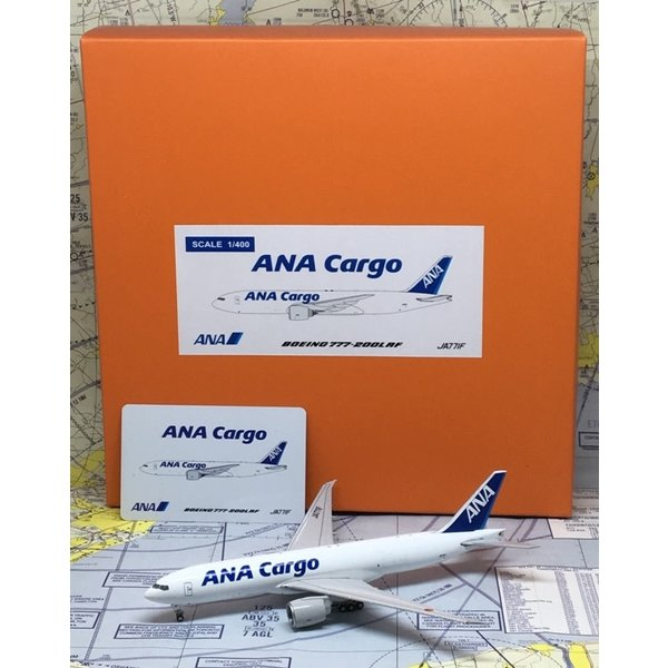 JC Wings B777F ANA Cargo JA771F 1:400 flaps down
